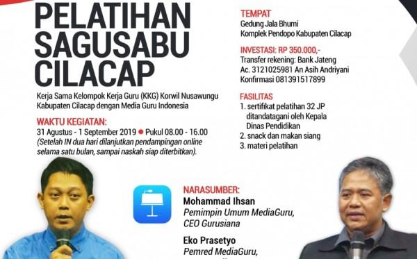 Pelatihan Sagusabu Cilacap (31 Agustus - 1 September 2019)