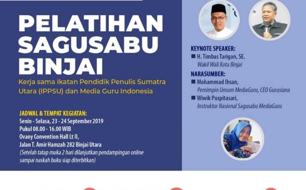 Pelatihan Sagusabu Binjai Sumut (23 - 24 September 2019)