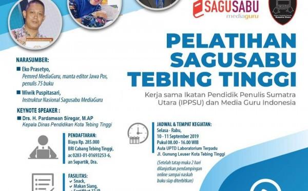 Pelatihan Sagusabu Tebing Tinggi Sumut (10 - 11 September 2019)