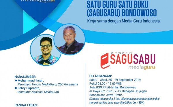 Pelatihan Sagusabu Bondowoso (28 - 29 September 2019)