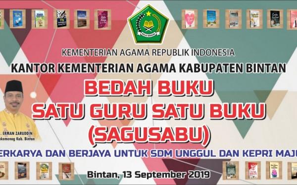 Bedah Buku Satu Guru Satu Buku (Bintan, 13 September 2019)