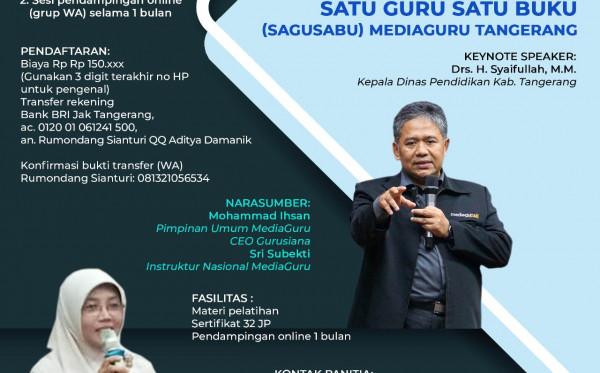 Kelas Menulis Buku Online Tangerang (10 - 12 Juli 2020)