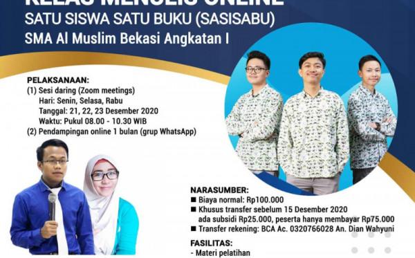 SASISABU I SMA AL MUSLIM BEKASI (21, 22, 23 DESEMBER 2020)