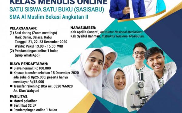SASISABU II SMA AL MUSLIM BEKASI (21, 22, 23 DESEMBER 2020)