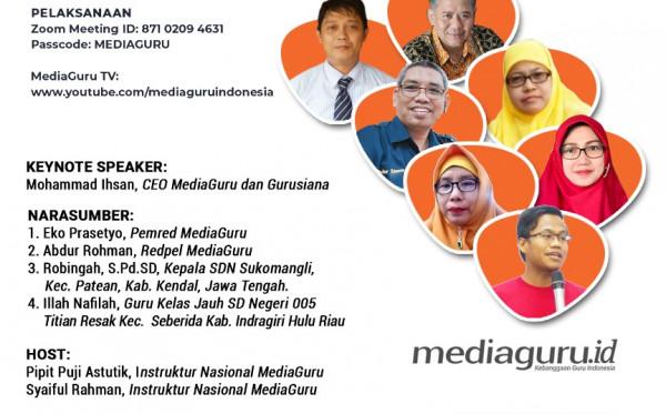 GURU DAN KARIER MENULIS (WEBINAR XXXII MEDIAGURU) & LAUNCHING MAJALAH LITERASI INDONESIA (20 JUNI 2021)