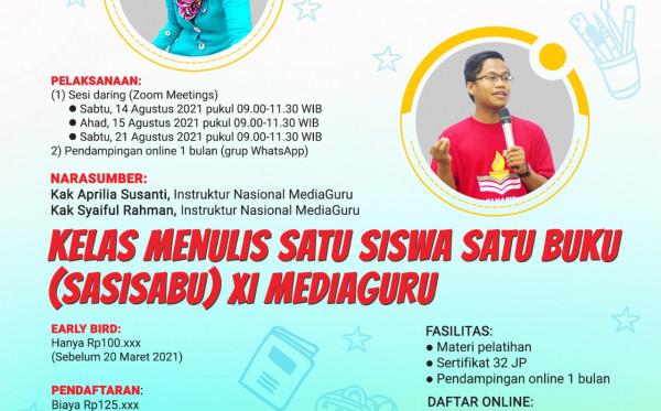 SASISABU XI MEDIAGURU (14 - 21 AGUSTUS 2021)